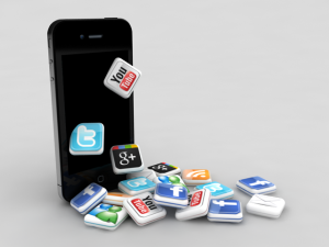 iphone-and-social-media-icons
