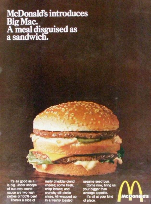 Oh, the BigMac